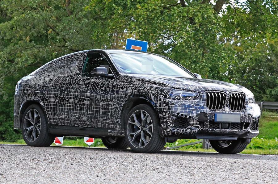 BMW X6 harmadik generációja álcázva