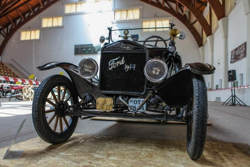 Egy 1917-es Ford T-Model