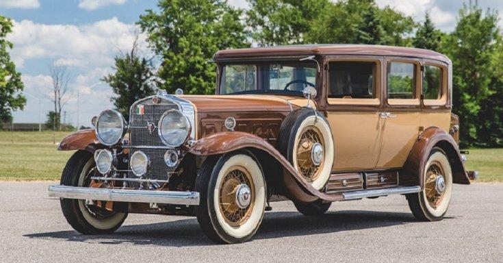1930 Cadillac Series 452 V16, 7 személyes limuzin