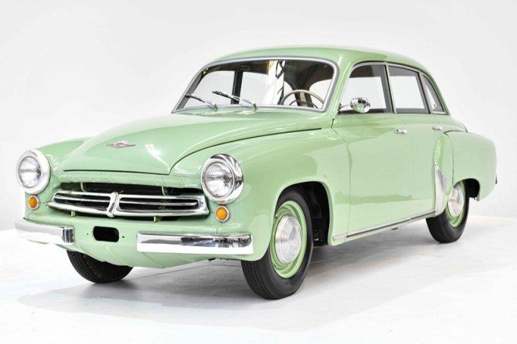 1956 Wartburg 311, zöld limuzin