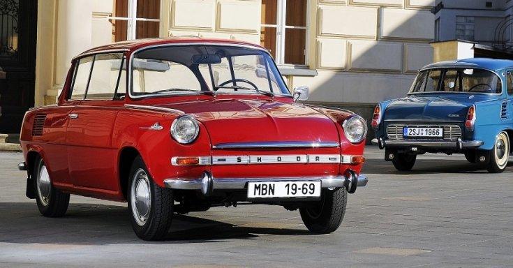 1969 Škoda 1100 MBX, piros, elölnézet