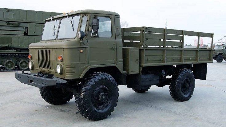 GAZ 66, katonai platós kivitel