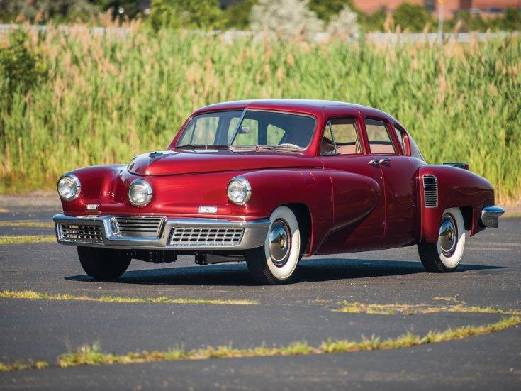 1948 Tucker 48, piros limuzin eleje