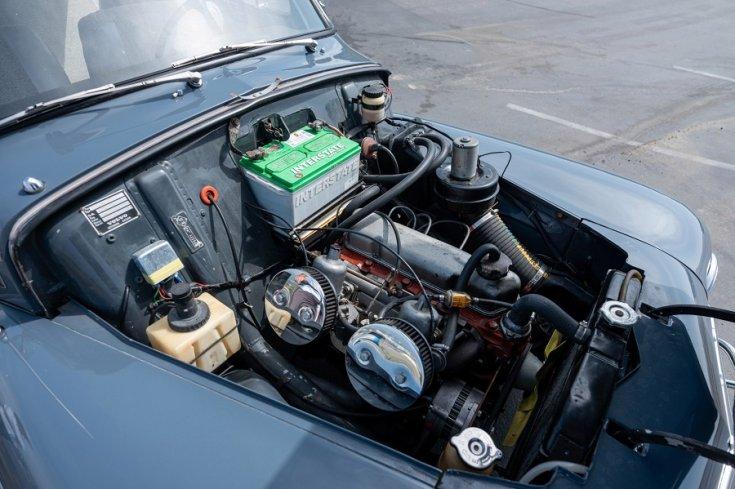 1965 Volvo PV 544 motortere, felülnézet, jobbról