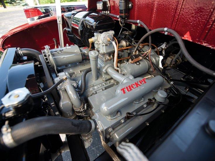 1948 Tucker 48 nyitott motortere