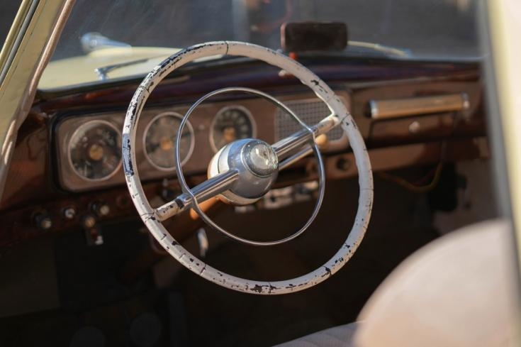 1948 Studebaker Champion műszerfala