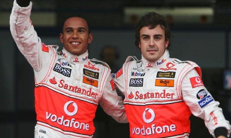 Hamilton és Alonso