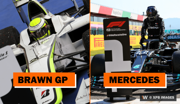 Brawn GP-ből lett a Mercedes