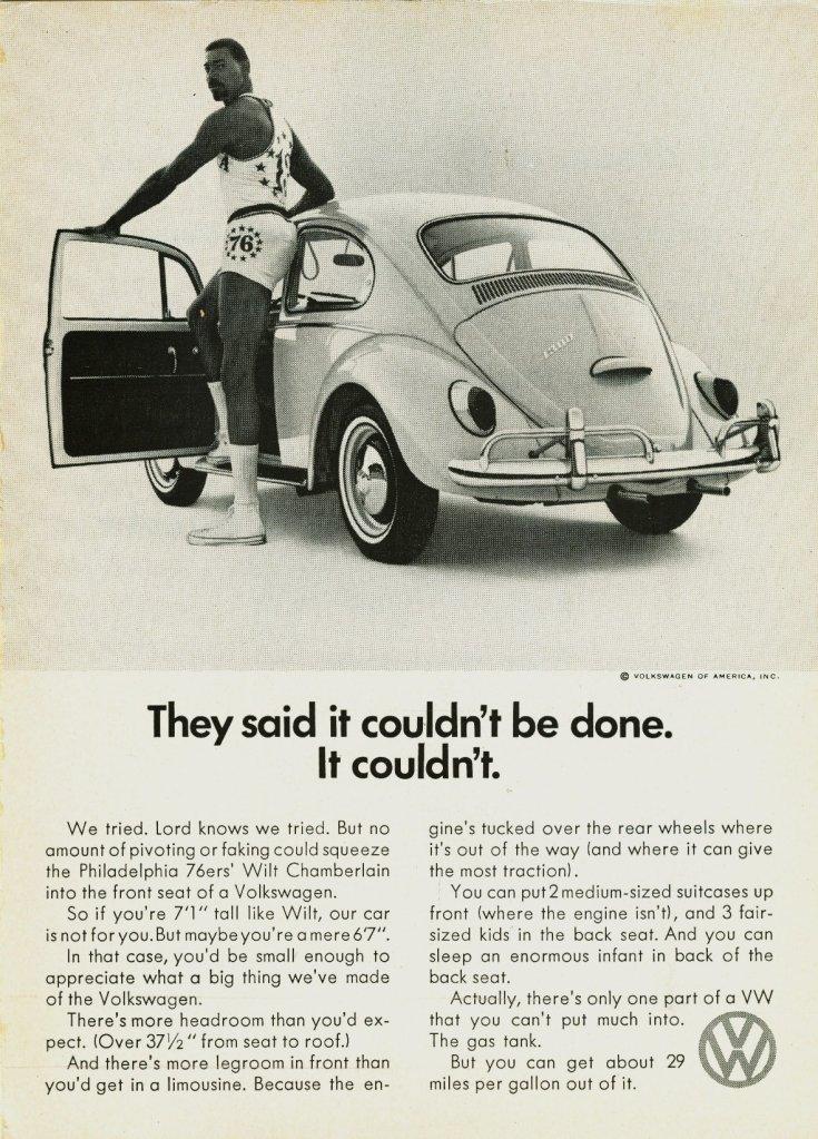 Volkswagen Bogár reklámja