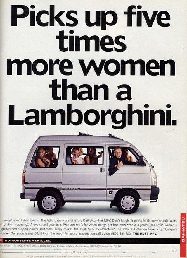 Subaru Hijet MPV reklámja