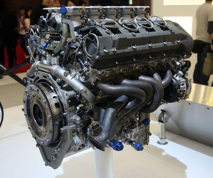 1LR-GUE a Lexus LFA motorja