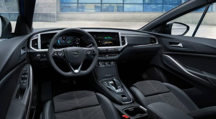 Az új Opel Grandland utastere