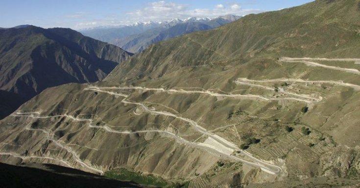 Szecsuan-Tibet autópálya, Kína