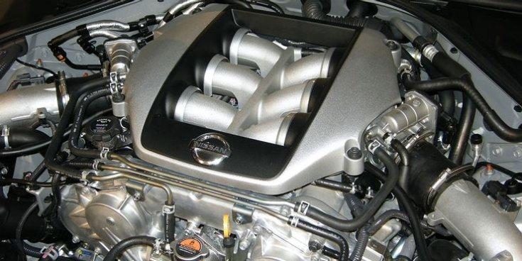VQ38DETT a Nissan GT-R motorja