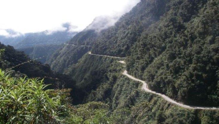 Yungas Road, Bolívia