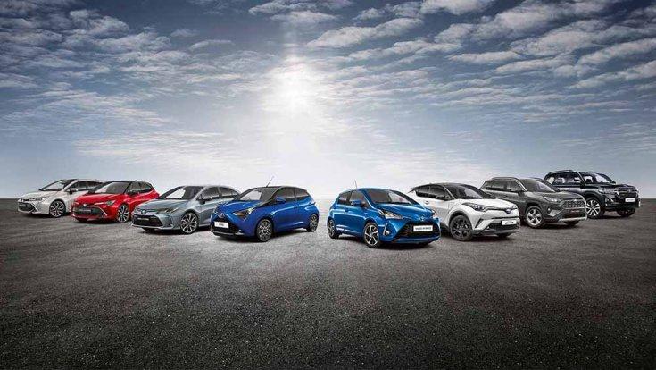 2020-ban kapható Toyota modellek, Camry, Corolla, Yaris, Aygo, RAV4, Land Cruiser, Hilux