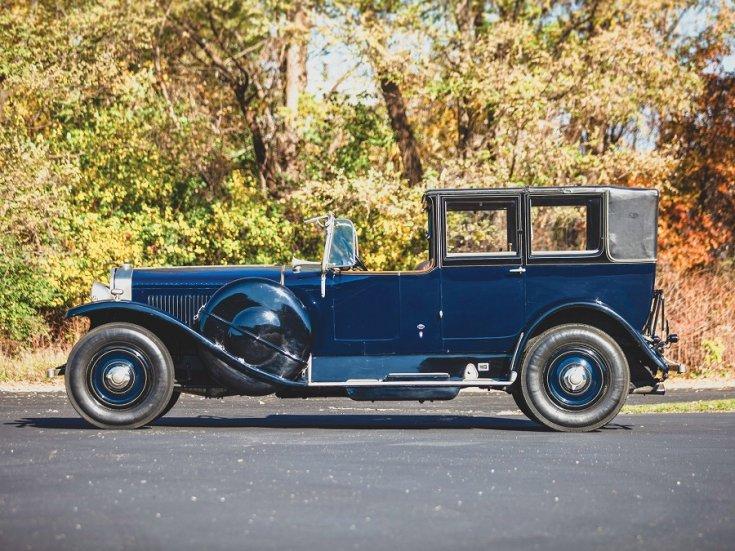 1924 Isotta Fraschini, Tipo 8A, landaulet, oldalnézet, balról