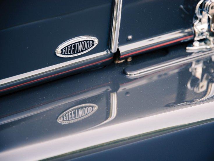 1931 Cadillac Series 542 V16, Fleetwood embléma, oldalnézet, jobbról