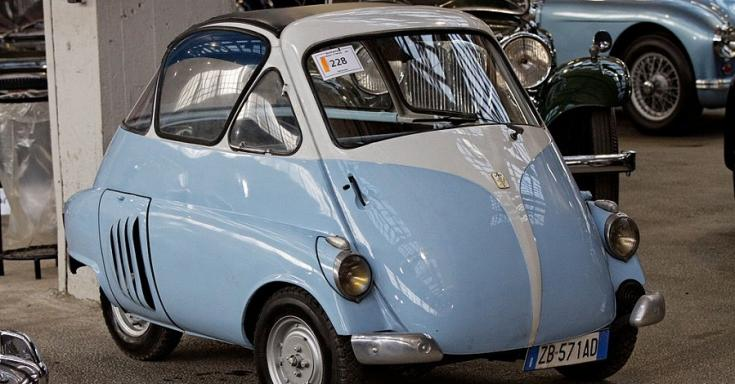 1953 Iso Isetta, előlnézet