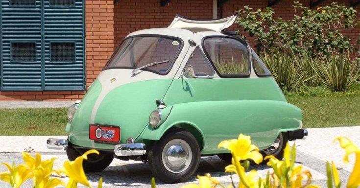 1956 Romi Isetta, oldalnézet