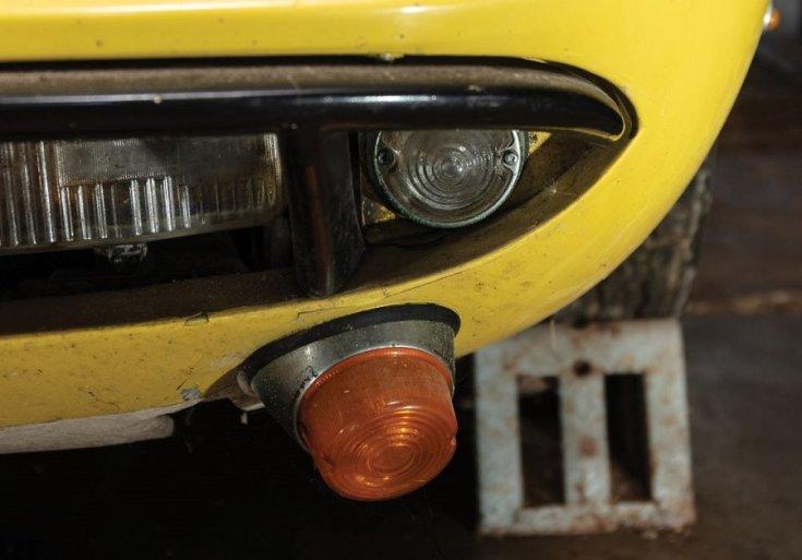 1969 Lamborghini Miura P400 S fényezésén repedések