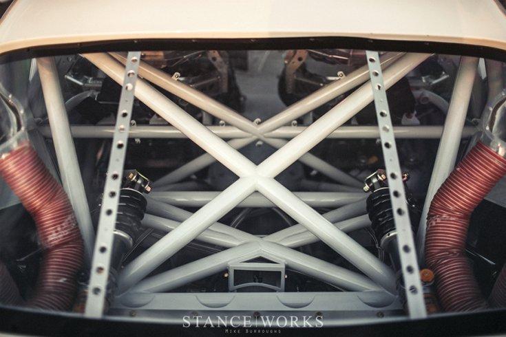 1970-es Pontiac Trans Am tuning bukókerete