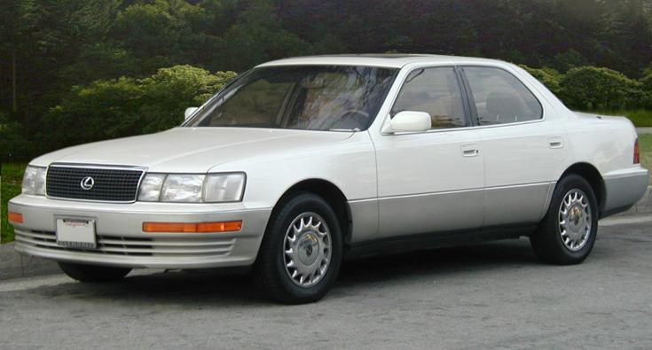 Lexus LS400 Toyota V8-as motorral