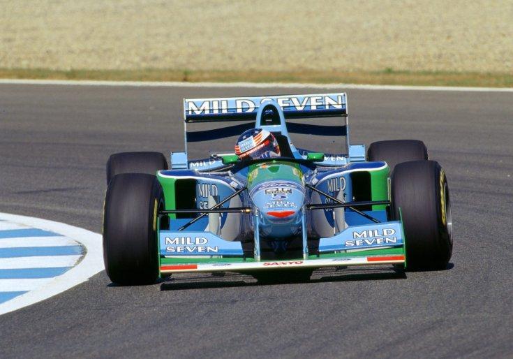 Schumacher az 1994-es Spanyol Nagydíjon