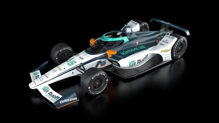 Alonso autója a 2020-as Indy 500-on