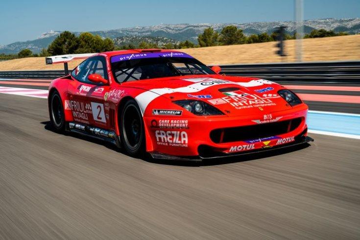 2001 Ferrari 550 GT1 Prodrive
