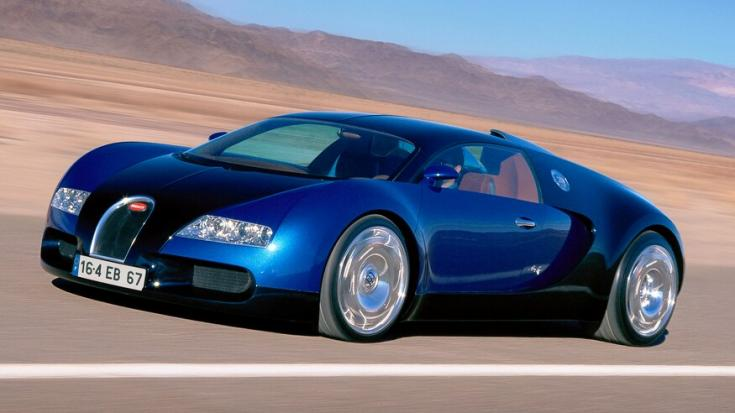 Bugatti Veyron EB 16.4 tanulmányautó