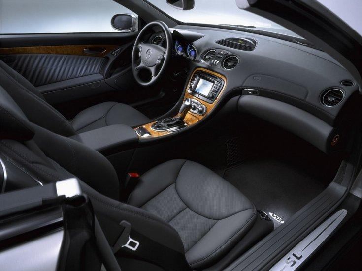 Mercedes SL R230-as széria belső