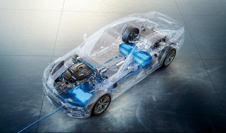 BMW 530e iPerformance töltési folyamat