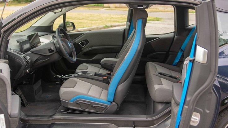 A BMW i3 belső tere