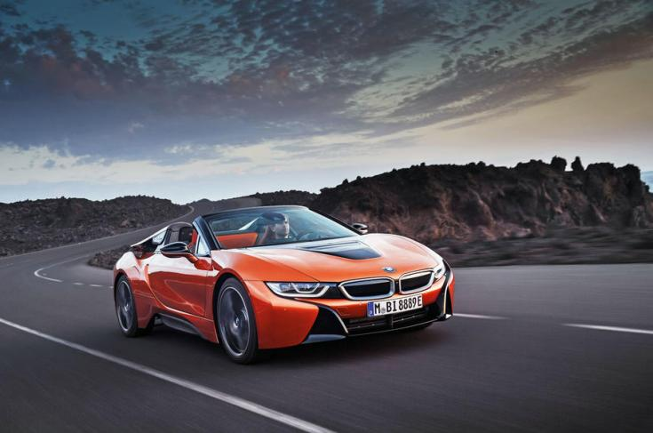 2018-as BMW i8 elölről