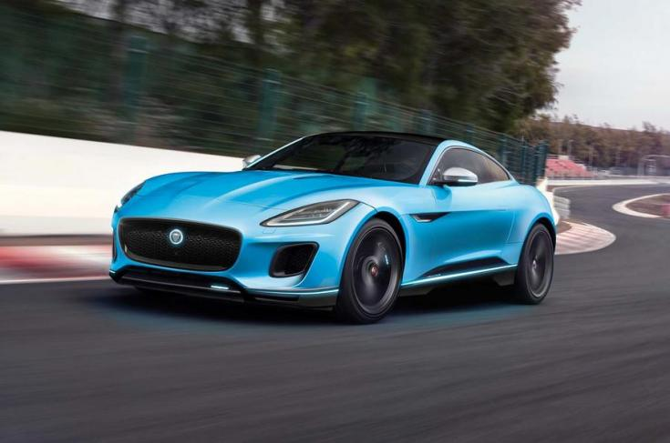 2018-as Jaguar F-Type elölről