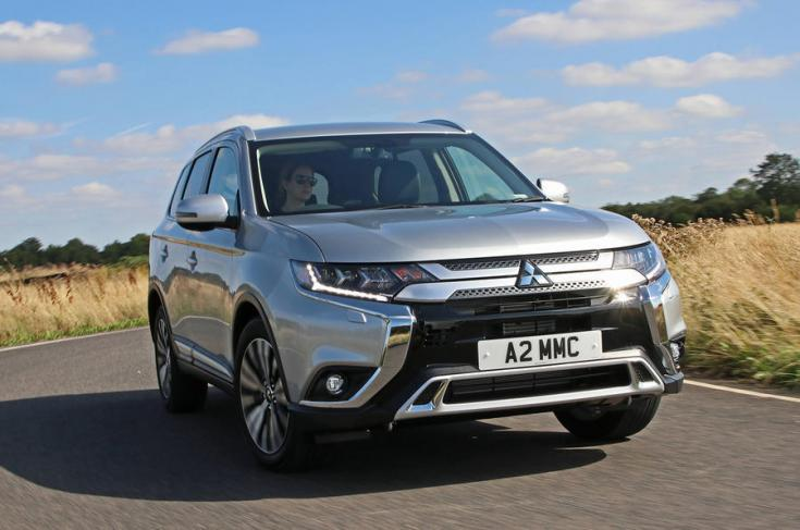 2018-as Mitsubishi Outlander elölről