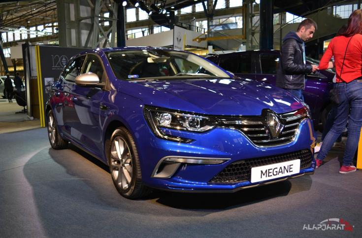 2018-as Renault Mégane GT Line
