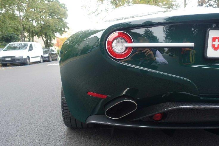 Alfa Romeo Disco Volante Spyder hátulról