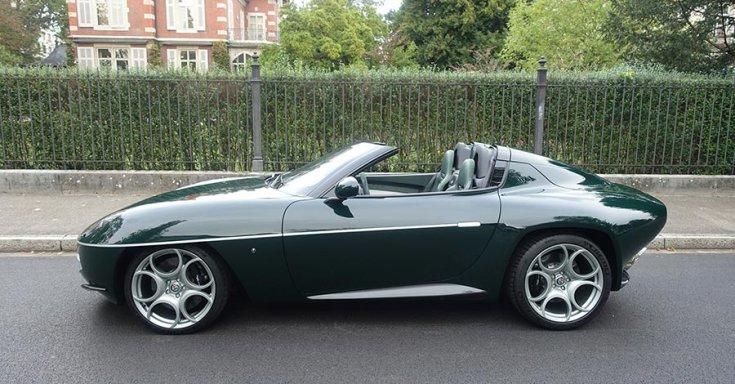 Alfa Romeo Disco Volante Spyder oldalról