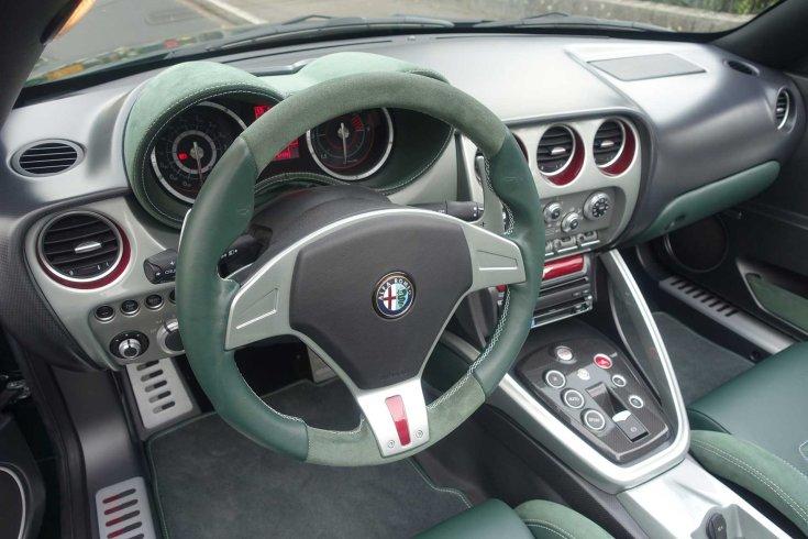 Alfa Romeo Disco Volante Spyder utastere