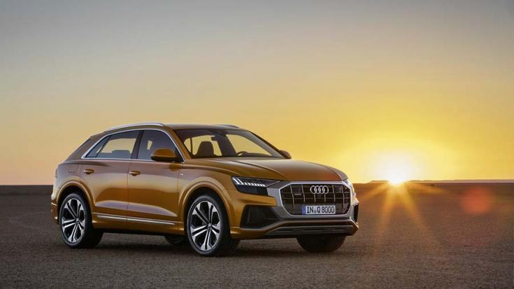 2019-es Audi Q8 elölről