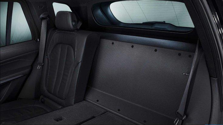BMW X5 Protection VR6 hátsó üléssor védelem