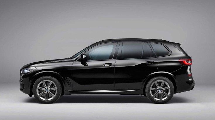 BMW X5 Protection VR6 oldalról