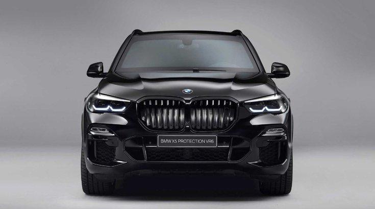 BMW X5 Protection VR6 szemből