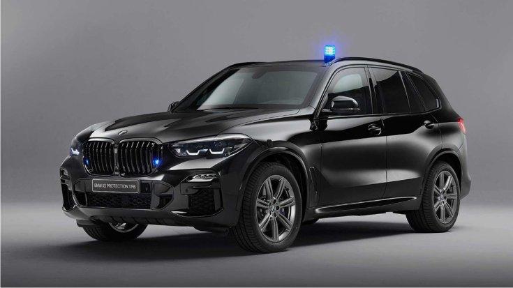 BMW X5 Protection VR6 szemből 45 fokból
