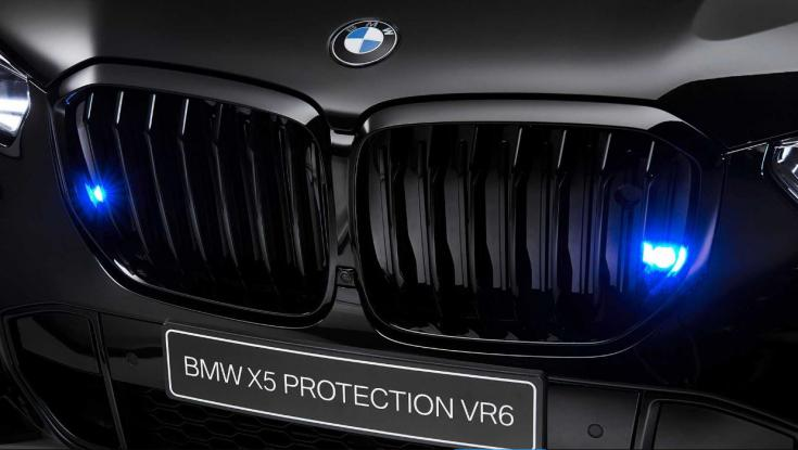 BMW X5 Protection VR6 vesék