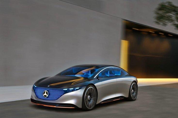 2019-es Mercedes EQS tanulmány