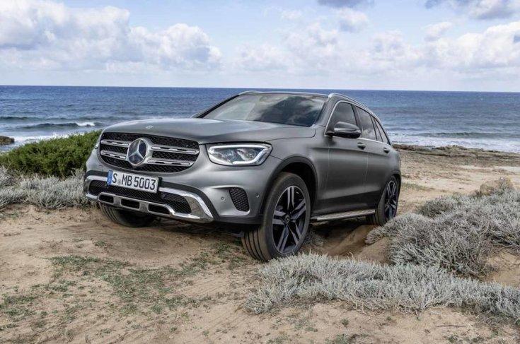 2019-es Mercedes GLC elölről