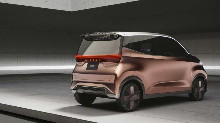 Nissan IMk koncepció hátulról – látványterv